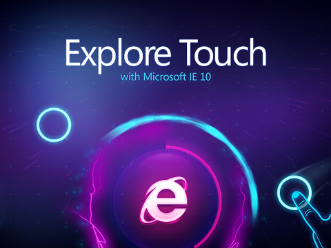 Explore Touch with Internet Explorer