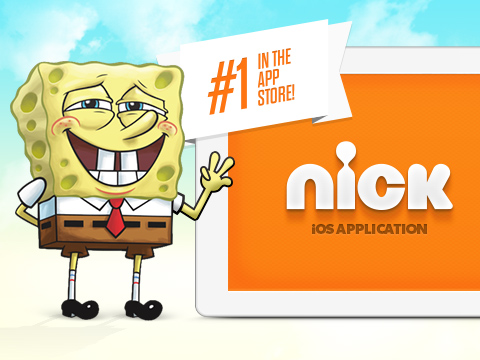 NIck App #1 Free iPad Entertainment App